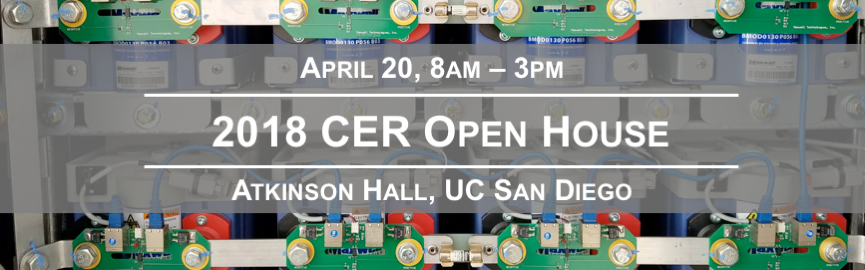 2018 CER Open House Banner